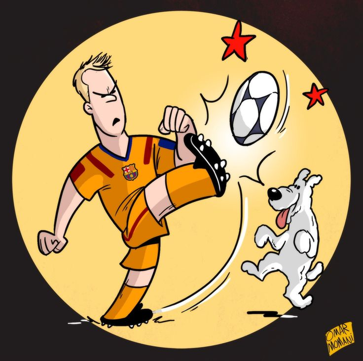 Снежинка Тинтин - Футбольные карикатуры - Блоги - Sports.ru