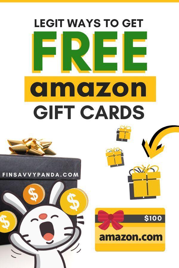 13 Legit And Easy Ways To Earn Free Amazon Gift Cards Finsavvy Panda Amazon Gift Card Free Amazon Gift Cards Free Amazon Products