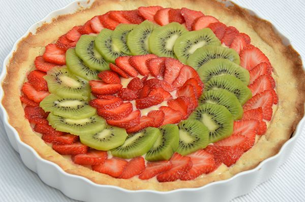 Sanne's Fruittaart - OhMyFoodness