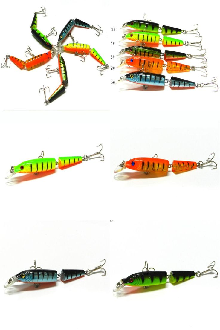 [Visit to Buy] 1pcs New Outdoor Sport Fishing Lures Spinner Crankbaits Hooks Baits Assorted Fish Tackle Multi-section simulation Luya fake bait #Advertisement