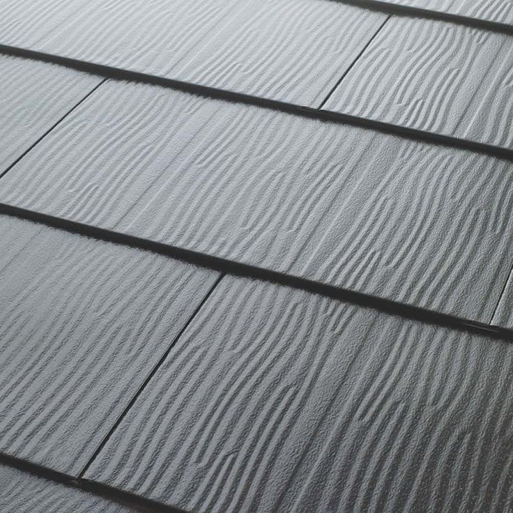 Metal Roofing Embossed Shingles Collection Charcoal