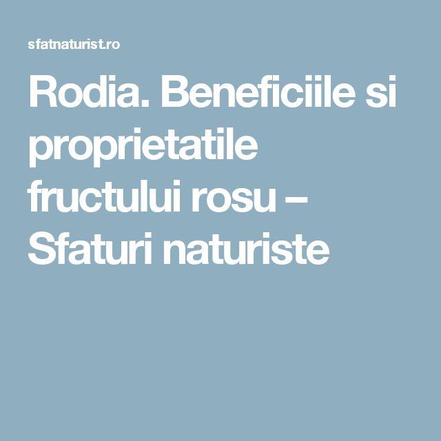 Rodia. Beneficiile si proprietatile fructului rosu – Sfaturi naturiste
