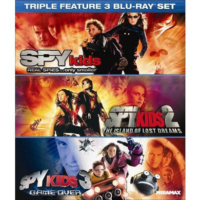Spy Kids/Spy Kids 2: The Island of Lost Dreams/Spy Kids 3: Game Over (3 Discs) (Blu-ray)
