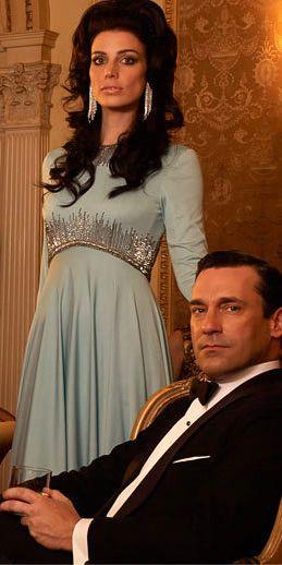 The Drapers played by John Hamm and Jessica Pare -- Mad Men