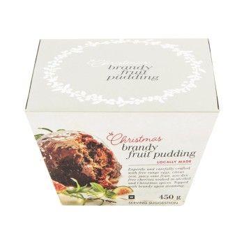 Christmas Brandy Fruit Pudding  450g