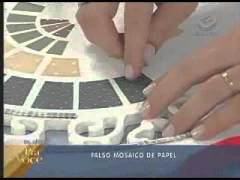 Dremel - Renovar una mesa - Imitacion mosaicos - YouTube
