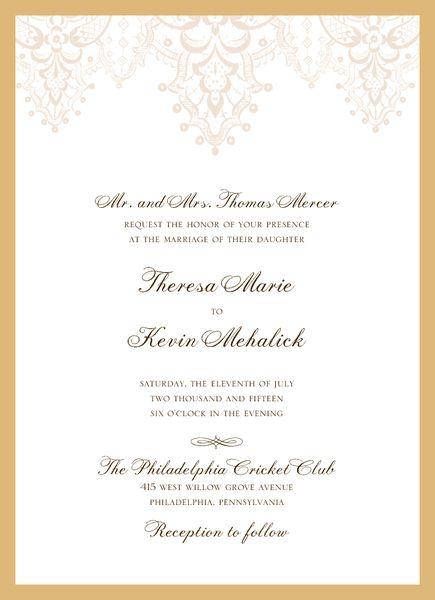 Wedding Paper Divas Invite 1