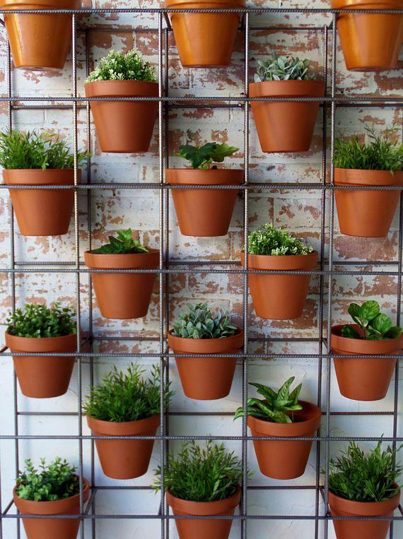 vertical garden plant pot holder interiors in 2019. Black Bedroom Furniture Sets. Home Design Ideas