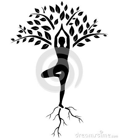 I like the root part as the peace sign and the leaves like but symbol instead of the person