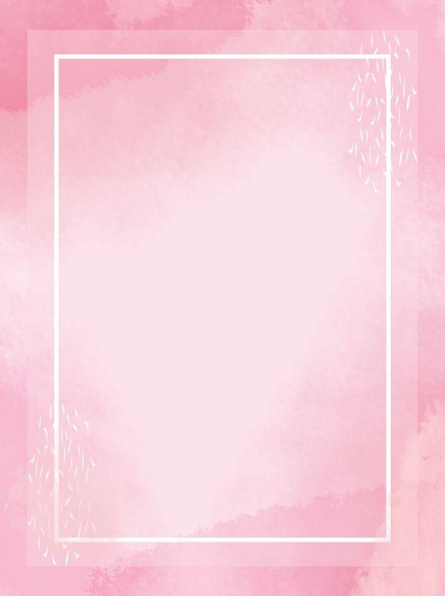 ألوان مائية كاملة أضيق الحدود خلفية وردية Pink Background Images Pink Background Poster Background Design