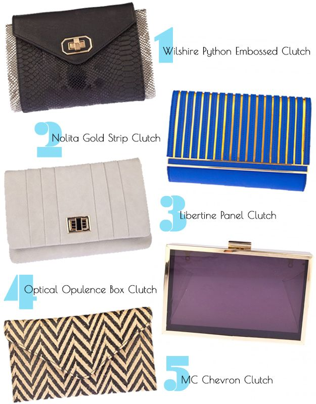 Clutches from Prima donna