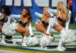 Image result for pictures of los angeles chargers cheer leaders