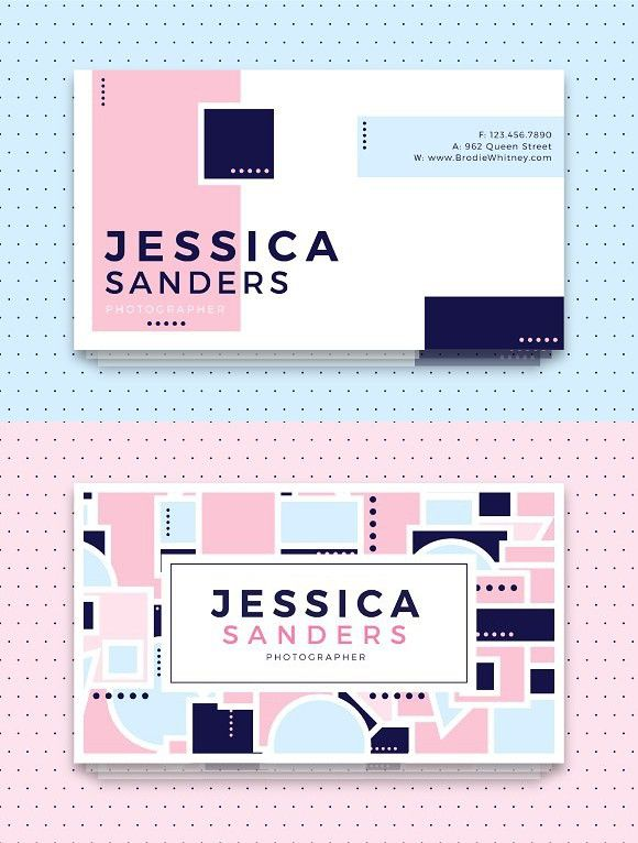 Jessica Sanders Business Card With Images Business Cards Card
