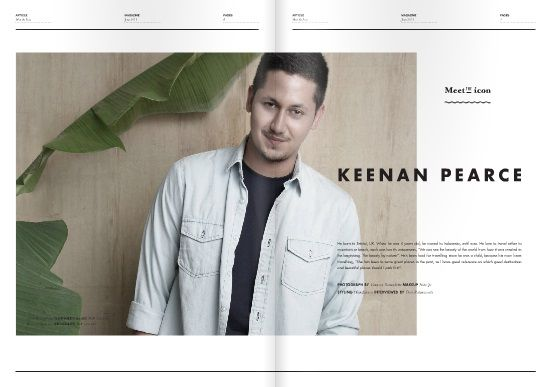 LocalBrand.co.id e-Magazine Meet The Icon : Keenan Pearce | 31th edition | Resort Issue all wardrobe by LocalBrand.co.id Click issuu.com/... for read the e-Magazine #LocalBrandID How to buy? Visit www.localbrand.co.id Line : localbrandid SMS/WA : +62858 3015 3333 BBM : 7436815A BB channel : LocalBrand.co.id