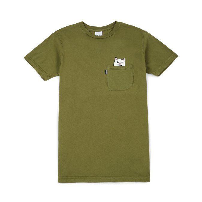 Rip N Dip - Lord Nermal Pocket T-shirt, Army Green 1