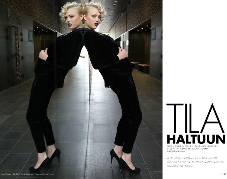 Boulevard-H magazine FW13 photo: Janica Grönqvist style: Jenna Andelin muah: Oona Heleena model: Fanni
