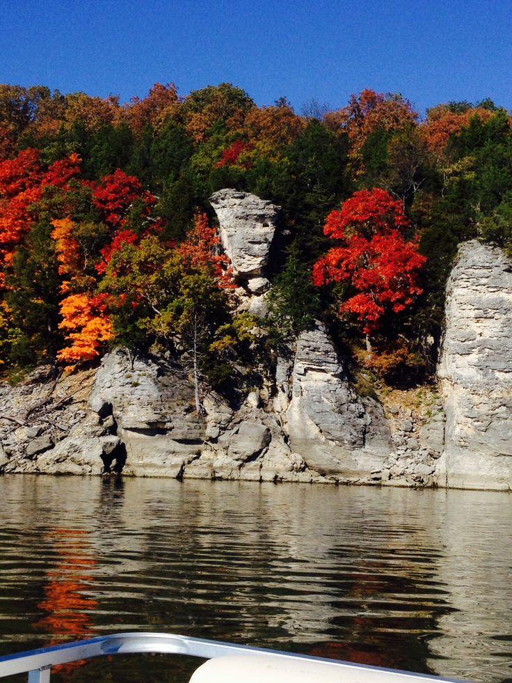 Spectacular Fall View At Truman Lake Missouri