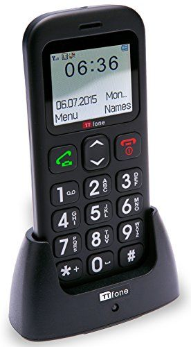 The TTfone Astro is a great simple easy to use basic function mobile phone. With large separated buttons, a big easy to read full colour display and an emergency SOS feature it's a great gift for those who want a phone to be just a phone. The Astro has a built in torch feature which can be...