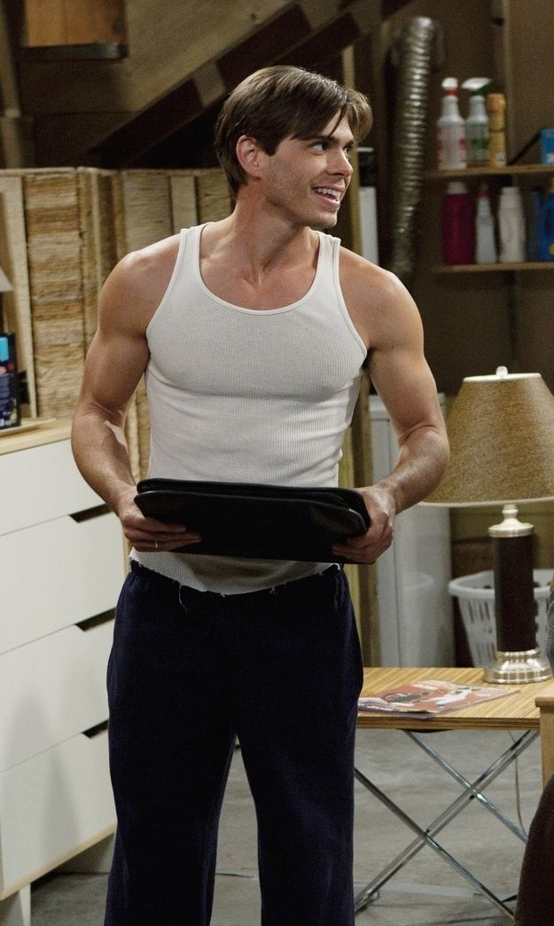 His shoulder/arms area could literally end world hunger. | Matthew Lawrence Is The Best Lawrence Brother