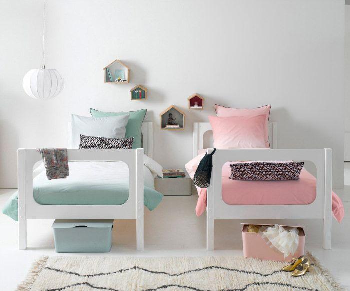 dormitorios infantiles compartidos para hermanos