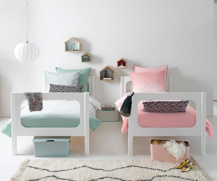 Las 25 mejores ideas sobre Dormitorios Compartidos Para ...