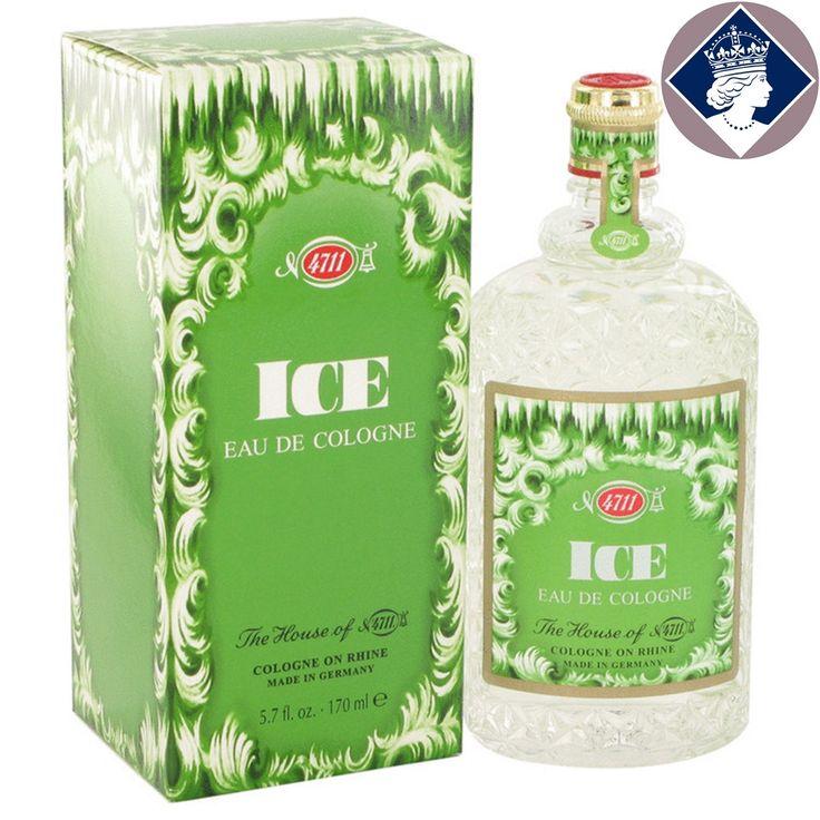 Muelhens 4711 Ice 170ml/5.7oz Eau De Cologne Splash EDC Perfume Scent Fragrance