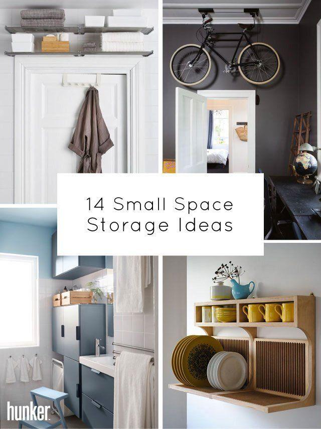 14 Small Space Storage Ideas Interiores Interiores Design Living