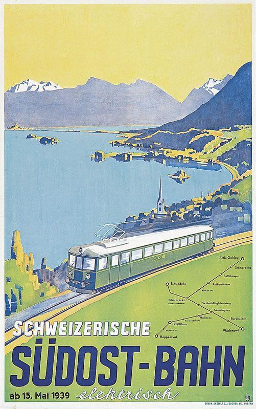 SOB SCHWEIZERISCHE SÜDOSTBAHN 1939