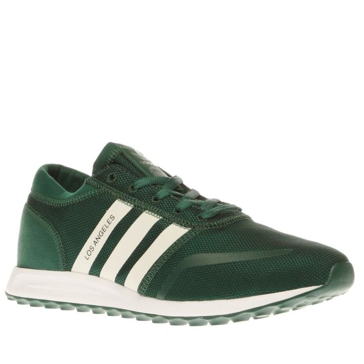mens adidas green los angeles trainers
