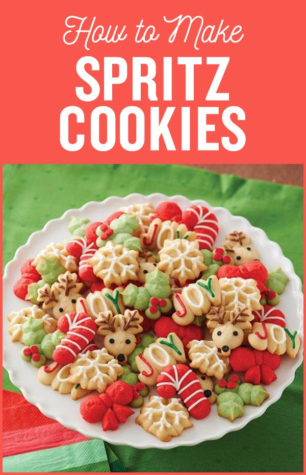 Here's everything you need to know on how to make spritz cookies which are very popular during Christmas time!
