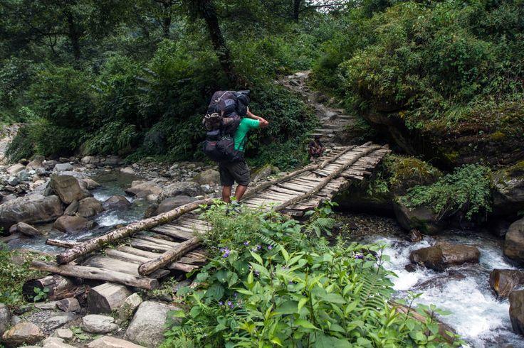 Porter guide Nepal trek Poon Hill