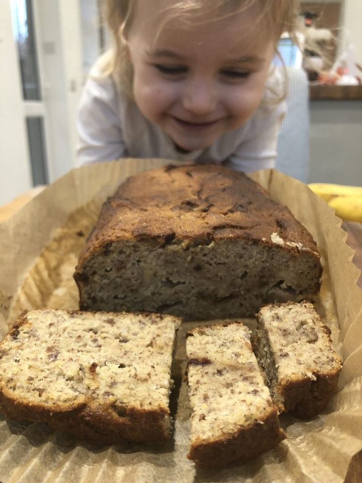 Easy Banana Bread (Gluten Free & dairy free) - Baby Led ...