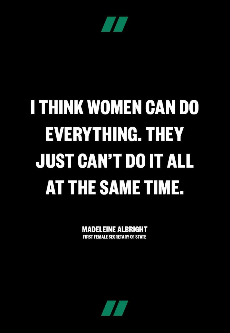 Madeleine Albright, 1st Female Secretary of State   www.makers.com