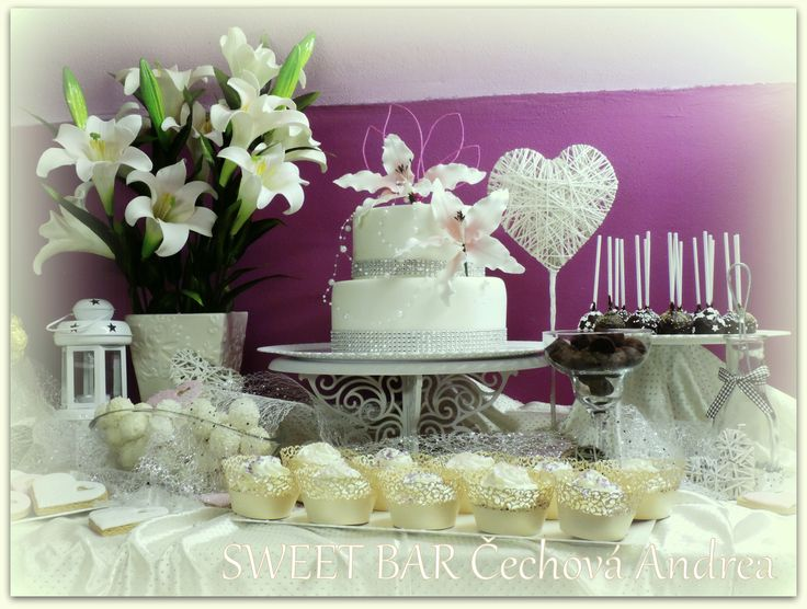 Sladké dobroty sladěné do stylu Vaší svatby nebo oslavy