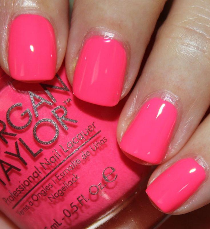 Morgan Taylo-r Pink Flame-ingo