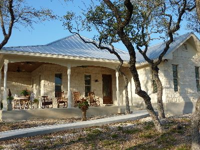 17 best images about texas hill country home on pinterest for Texas ranch house plans with porches