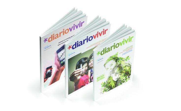 Diseño Editorial, revista DIARIO VIVIR para clientes SOCOVESA. Periodo 2011/2013 Nº 24 al 32.