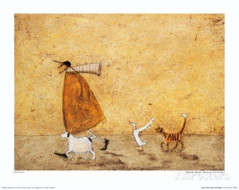 Ernest, Doris, Horace et Stripes Reproduction d'art