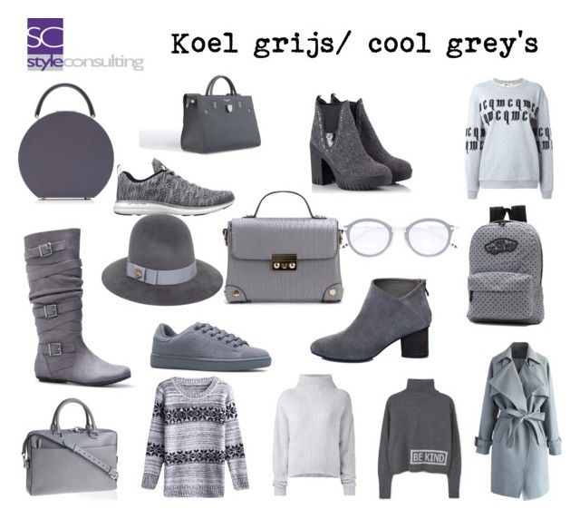 """Koel grijs/ cool grey's."" By Margriet Roorda-Faber."