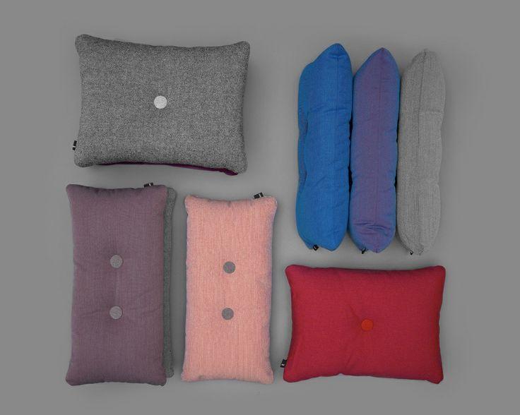 Kussen HAY Dot 2x2 Steelcut Trio light grey - HAY - BijzonderMOOI* - Dutch design