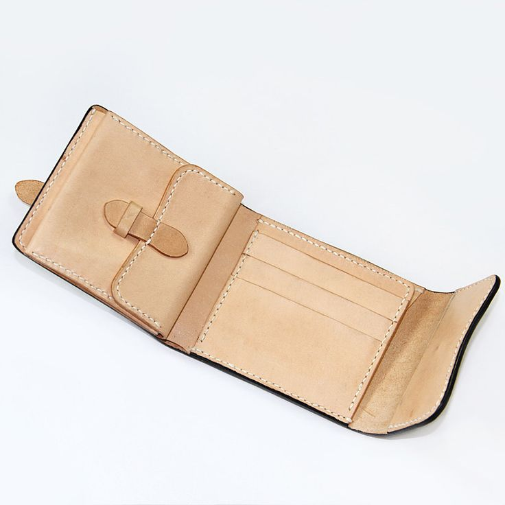 100% Hand-stitched Vegetable Tanned Leather Wallet от AnneSoye