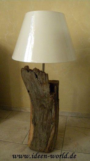 Lampen Unikate aus Holz
