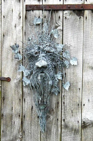 .The Green Man - In the Celtic tradition he's known as Cernunnos, Lord of the Forest. He rules over the wilds and conducts The Wild Hunt.