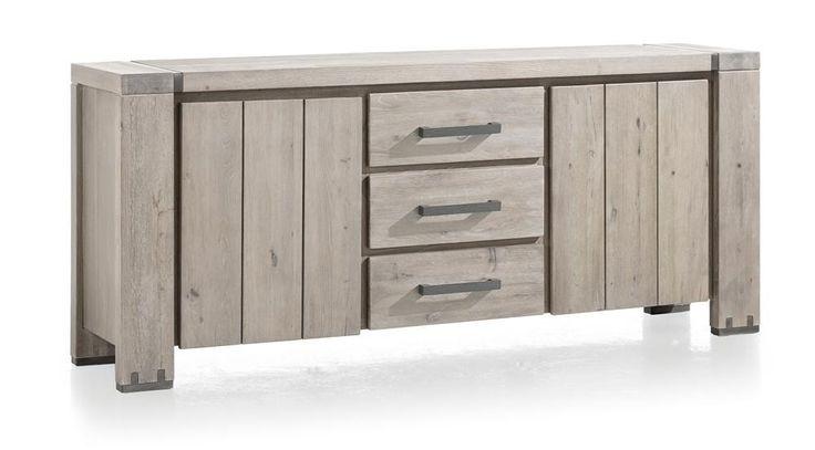 Avola, dressoir 2-deuren + 3-laden - 190 cm