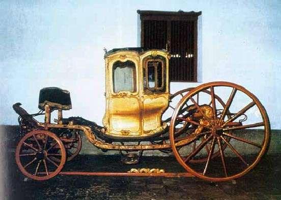 Di komplek Ndalem Keraton Ngayogyakarta, terdapat museum yang memajang koleksi kereta kuda. Adalah Museum Kereta Keraton Yogyakarta