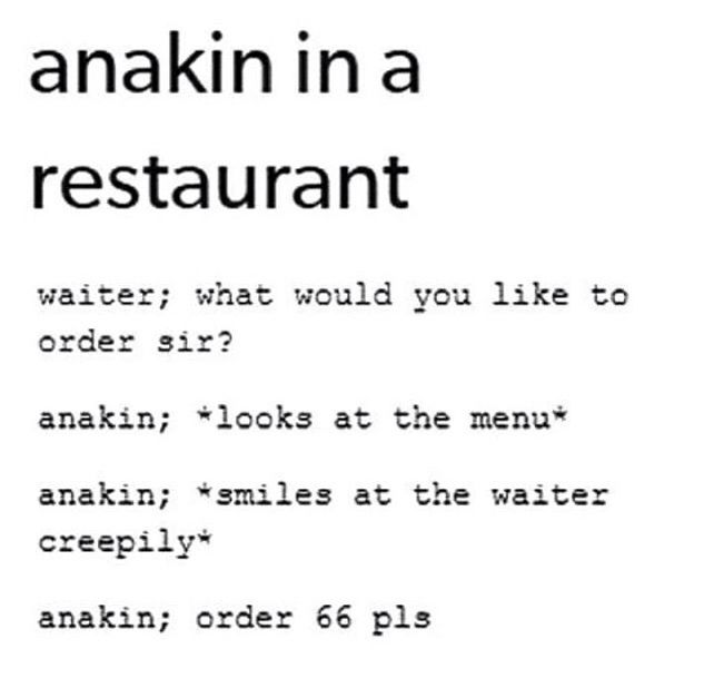 Anakin skywalker ^w^