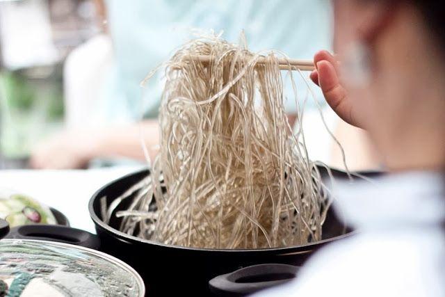 Japchae     Banchan Culinária Coreana: Receitas:  잡채 Japche