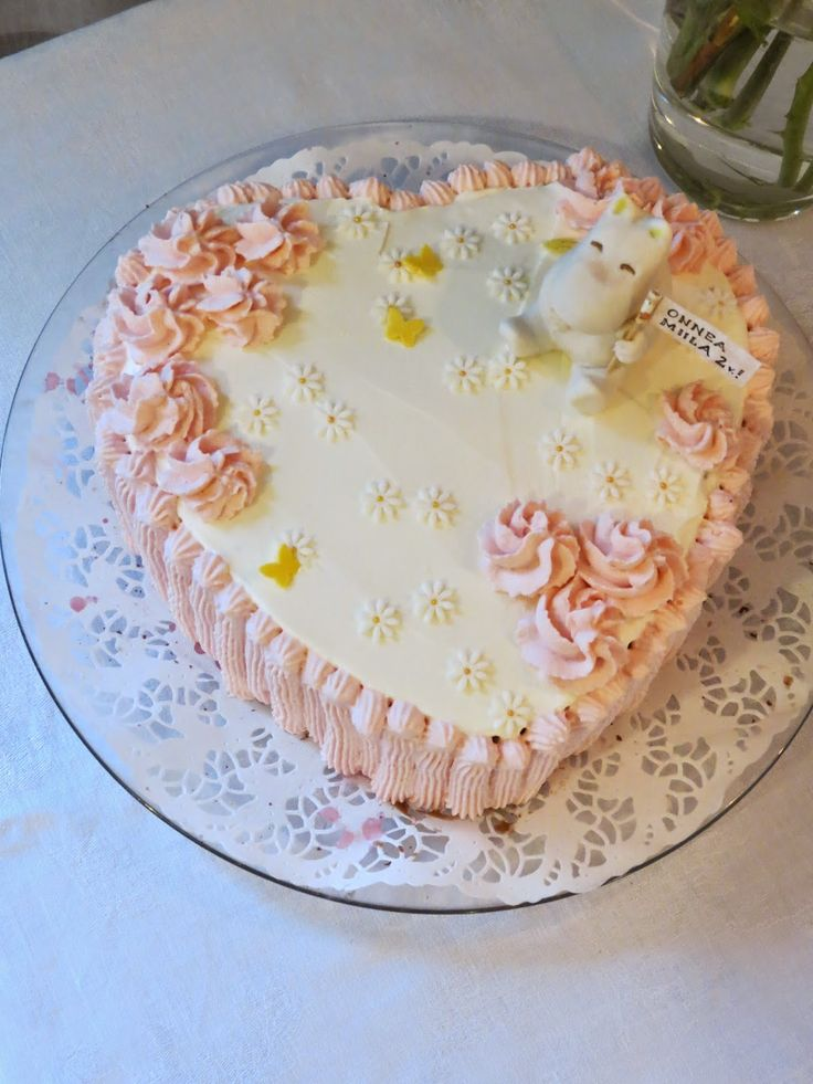 Muumin cake made by Sanna Oksa