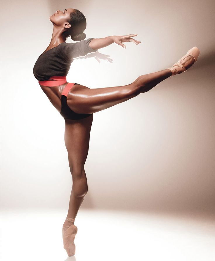 The dancer Misty Copeland 2014 one of the best ballerinas in the world. Photography women ballerina