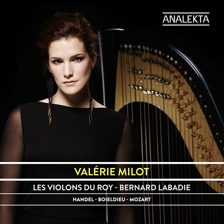 Concertos pour flûte et harpe interprétés par Valérie Milot et Les Violons du Roy. Musique classique / Classical Music. Production Analekta